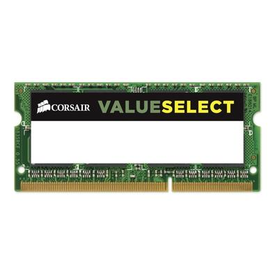 Memória Corsair Value Select Para Notebook 4GB 1333Mhz DDR3 C9 - CMSO4GX3M1C1333C9