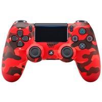 Controle Sony Dualshock 4 PS4, Sem Fio, Vermelho Camuflado - CUH-ZCT2U