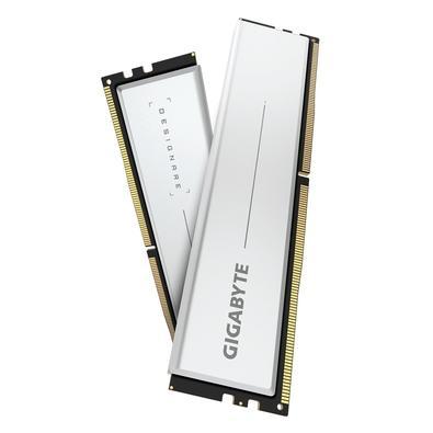 Memória Gigabyte Designare, 64GB (2x32GB), 3200MHz, CL16, DDR4, Branco - GP-DSG64G32