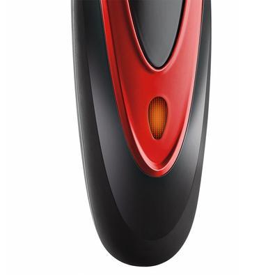 Cortador de Cabelos Mondial Flex Clipper, 2 Pentes de Corte, Bivolt, Vermelho - CR-04