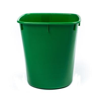 Cesto de Lixo Cônico Menno, Vidro, Verde