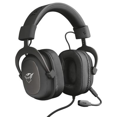 Headset Gamer Trust GXT 414 Zamak Premium, Drivers 53mm - 23310