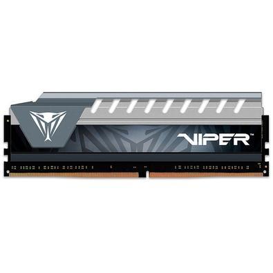 Memória Patriot Viper Elite 8GB (1x8GB), 2400MHz, DDR4, CL16, Cinza - PVE48G240C6GY