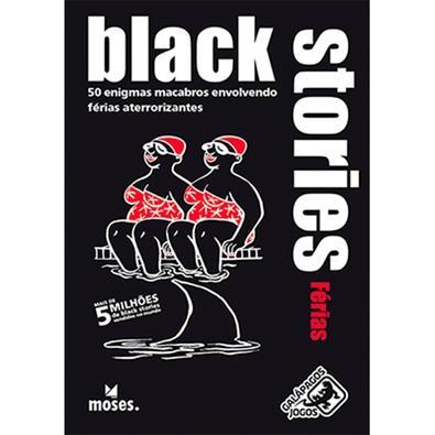 Jogo Black Stories Férias - BLK108