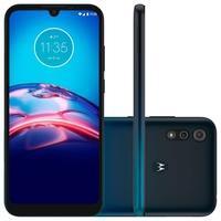 Smartphone Motorola Moto E6S, 32GB, 13MP, Tela 6.1, Azul + Capa Protetora - XT2053