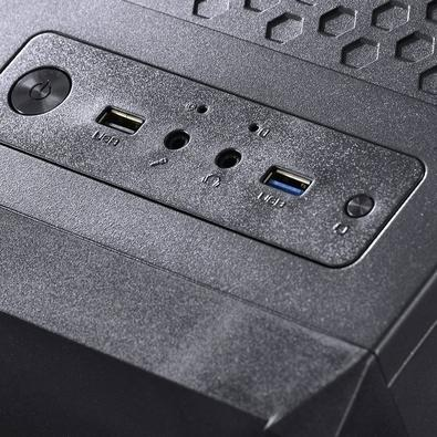 Computador Gamer Skul 5000 AMD Ryzen 5 2400G, 16GB, SSD 480GB, GTX 1050 TI 4GB, Linux - 33778