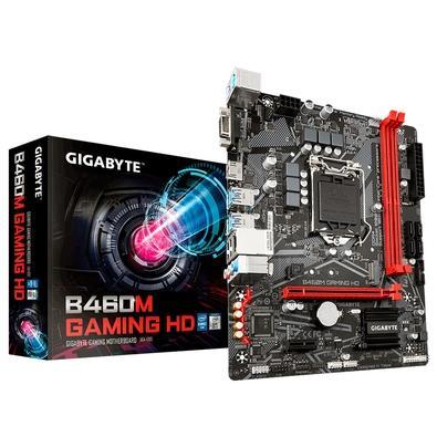 Placa-Mãe Gigabyte B460M Gaming HD, Intel LGA 1200, mATX, DDR4