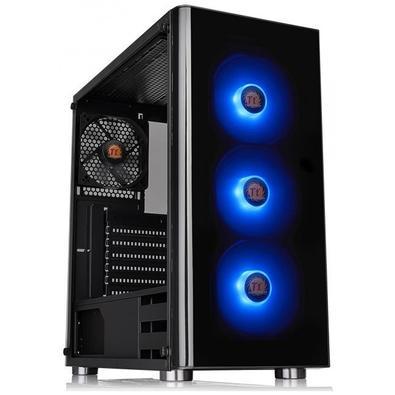 Gabinete Gamer Thermaltake V200 TG, Mid Tower, RGB, com FAN, Lateral em Vidro - CA-3K8-60M1WZ-00
