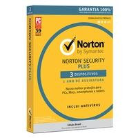 Norton Antivirus Security Plus para 3 Dispositivos - Digital para Download - 21382363