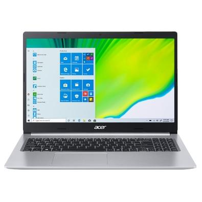 Notebook Acer Aspire 5 Intel Core i5-10210U, 8GB, 1TB, SSD 128GB, Windows 10 Home, 15.6´, Prata - A515-54-542R