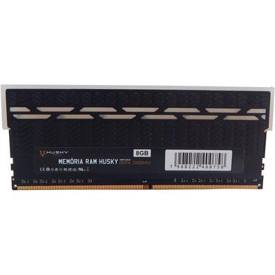 Memória Husky RGB, 8GB, 3200Mhz, DDR4, CL19, Preto - HMR-D4830