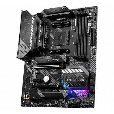 Placa-Mãe MSI MAG B550 Tomahawk, AMD AM4, ATX