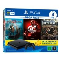 Console Sony PlayStation 4 Mega Pack 12, 1TB, Gran..