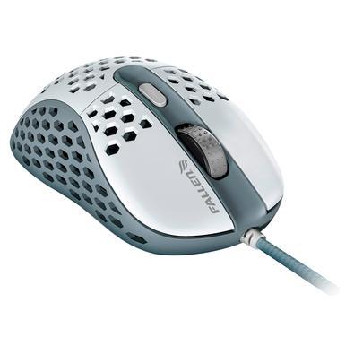 Mouse Gamer Fallen F65 Tempest, RGB, 6 Botões, 12000DPI, Branco