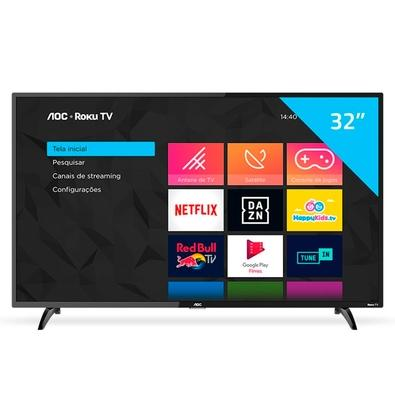 Smart TV LED 32´ AOC, 3 HDMI, 1 USB, Wi-Fi - 32S5195/78G