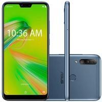 Smartphone Asus Zenfone Max Shot, 64GB (32GB + 32GB), 12MP, Tela 6.2´, Azul - ZB634KL-4D012BR