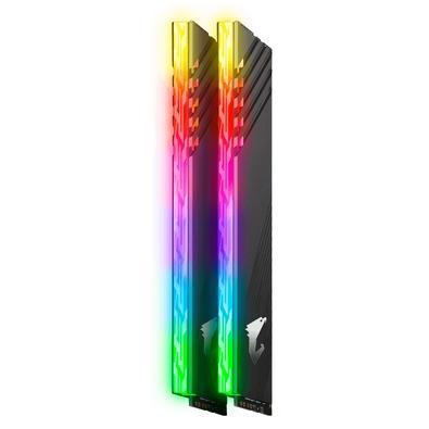 Memória Aorus RGB, 16GB (2x8GB), 3200MHz, DDR4, CL16 - GP-ARS16G32
