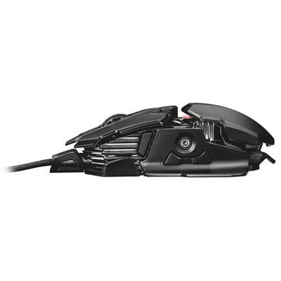 Mouse Gamer Trust GXT 138 X-Ray Illuminated, RGB, 10 Botões, 4000DPI - 22089