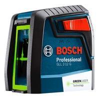 Nivelador de Linhas Verdes Cruzadas Bosch GLL 2-12 G, 12 metros - 0601063VD0-000