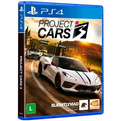 Game Project Cars 3 PS4