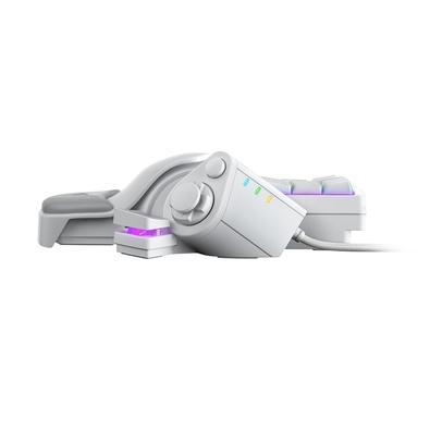 Teclado Gamer Razer Tartarus Pro Chroma, Razer Analog Optical Switch, US, Mercury White - RZ07-03110200-R3M1