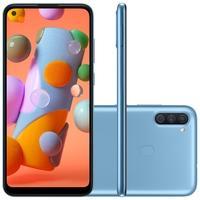 Smartphone Samsung Galaxy A11, 64GB, 13MP, Tela 6.4´, Azul - SM-A115MZBSZTO