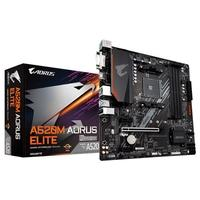 Placa Mãe Gigabyte A520M AORUS ELITE, AMD AM4, DDR4