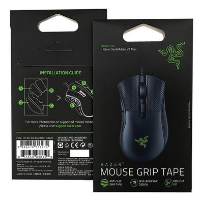 Mouse Gamer Razer Deathadder V2 Mini, Chroma, Optical Switch, 6 Botões, 8500DPI + Mouse Grip Tape - RZ01-03340100-R3U1