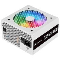 Fonte Corsair CX550F, 550W, 80 Plus Bronze, Totalmente Modular, RGB, Branco - CP-9020225-BR