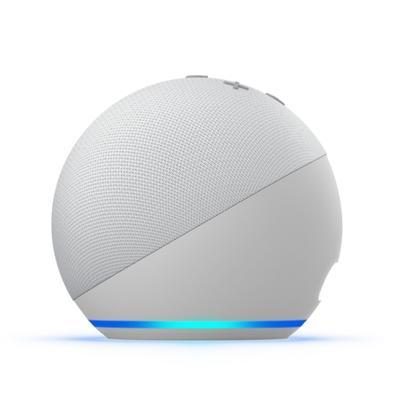 Echo Dot (4ª Geração) com Alexa, Amazon Smart Speaker Branco - B084KQBYYM