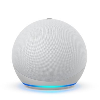 Smart Home Echo Dot Amazon Alexa, 4 Geração, Branco - B084KQBYYM