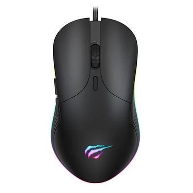 Mouse Gamer Havit MS1020, RGB, 7 Botões, 4200DPI - HV-MS1020