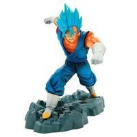 Action Figure Bandai Banpresto Dragon Ball Z Dokkan Battle Collab Super Saiyan God Vegetto - 80656