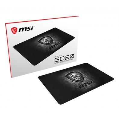 Mousepad Gamer MSI, Agility GD20, Speed, Médio (320 x 220 x 5 mm)