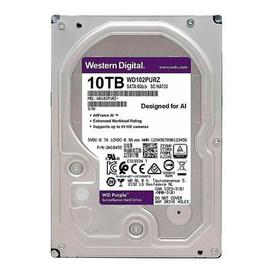 HD Western Purple, 3.5´, 10TB, SATA - WD102PURZ