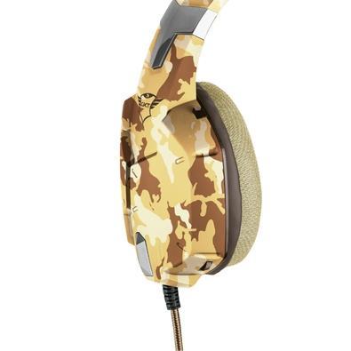 Headset Gamer Trust, GXT 322D Carus Desert Camo - 22125