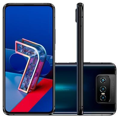 Celular Smartphone Asus Zenfone 7 128gb Preto - Dual Chip