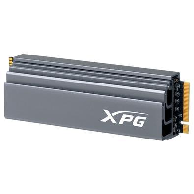 SSD XPG GAMMIX S70, 2TB, M.2 PCIe, Heatsink, Leituras: 7400Mb/s e Gravações 6400Mb/s - AGAMMIXS70-2T-C