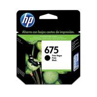 Cartucho de Tinta HP 675 Preto CN690AL