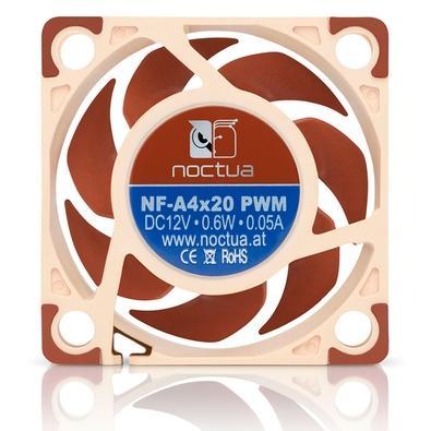 Cooler FAN Noctua 120mm, para PC, Marrom - NF-A12x15-PWM