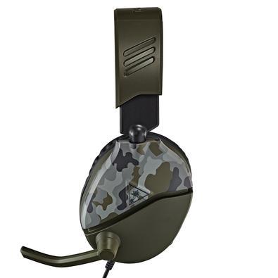 Headset Gamer Turtle Beach Recon 70P, Compatível com PS4 PS5 PC Xbox One Nintendo Switch e Mobile, Drivers 40mm, Verde Camuflado - TB70PP0007