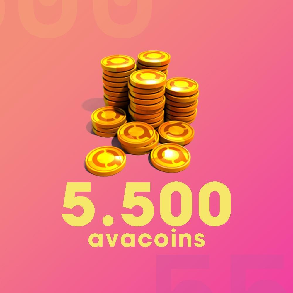Gift Card Moeda para Jogo Avakin Life: 5.500 Avacoins - Produto Digital