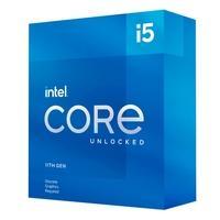 Processador Intel Core i5-11600KF 11ª Geração, Cache 12MB, 3.9 GHz (4.9GHz Turbo), LGA1200 - BX8070811600KF