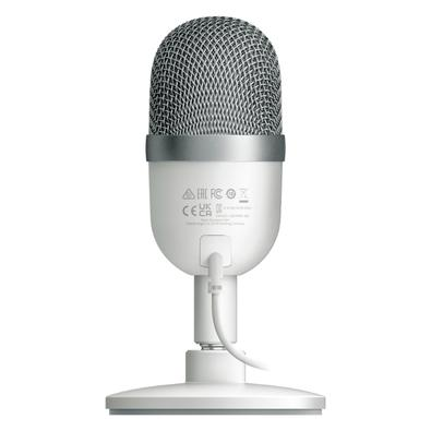 Microfone Razer Seiren Mini, USB, Mercury White - RZ19-03450300-R3M1