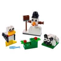 LEGO Classic - Blocos Brancos Criativos, 60 Peças - 11012