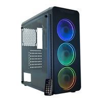 Gabinete Gamer K-Mex A2G8 Infinity Streamer III, 3x Fans Frontais ARGB, Lateral em Acrílico, Preto - CGA2G8RH0012B0X