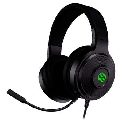 Kit Gamer 4 em 1 Hoopson LED Verde - Teclado + Mouse + Headset + Mousepad - TPC-067VD