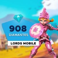 Gift Card Digital Lords Mobile - 908 Diamantes