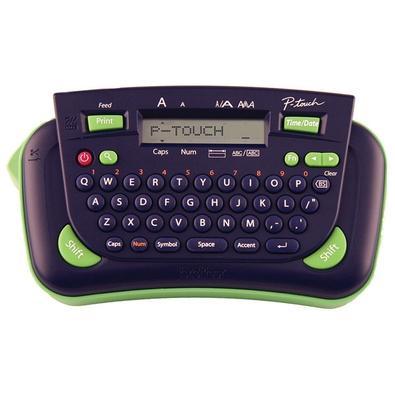 Rotulador Eletônico Brother, Portátil, Impressão Até 2 Linhas, Fitas M, Função Data/Hora - PT80
