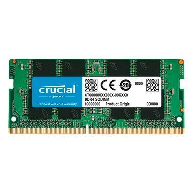 Memória Crucial Basics para Notebook, 4GB, 2666 Mhz, DDR4, CL19- CB4GS2666